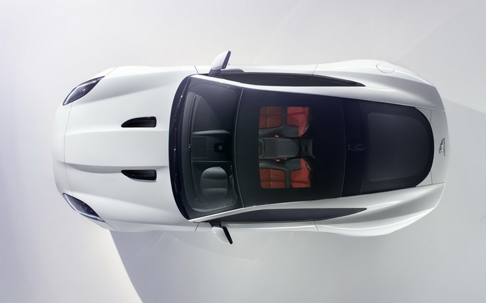JAGUAR F-TYPE COUPE FIRST IMAGE