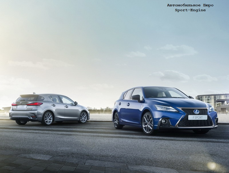 is the new Lexus CT will ofer EV-modification